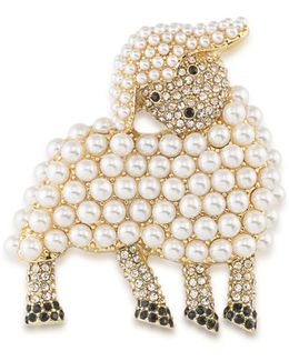 Lamb Brooch