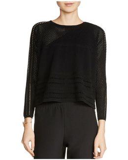 Mufina Open Knit Sweater
