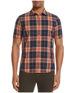 Bryce Plaid Slim Fit Button-down Shirt