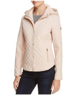 Hooded & Quilted Jacket