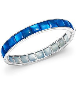 Sterling Silver Rock Candy® Wonderland Channel Set Bracelet In Ultramarine