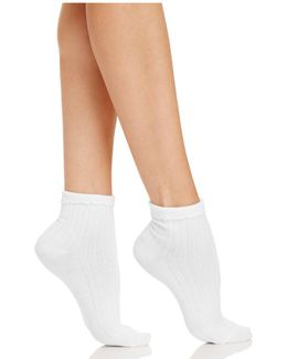 Lady Ruffle Anklet Socks