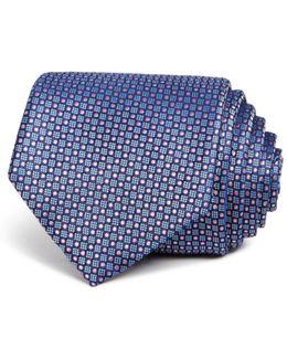 Textured Square Classic Tie