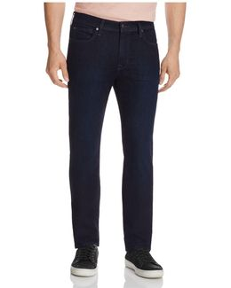 Brixton Straight Fit Jeans In Leib