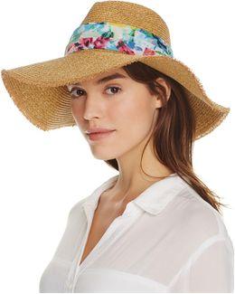 Watercolor Willa Sun Hat