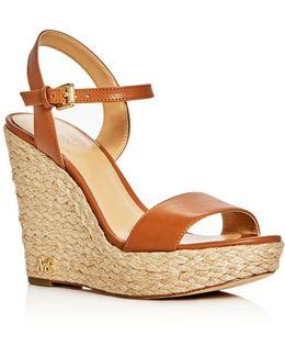 Jill Espadrille Wedge Sandals