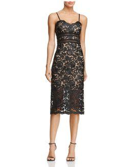 Sweetheart Lace Sheath Dress