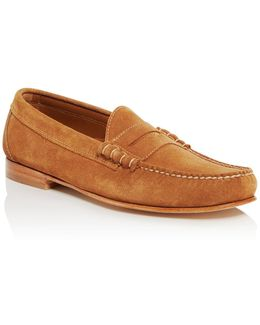 Larry Suede Penny Loafers