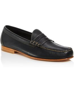 Larry Leather Penny Loafers