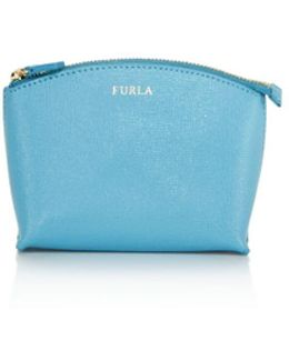 Elisa Small Leather Cosmetic Case