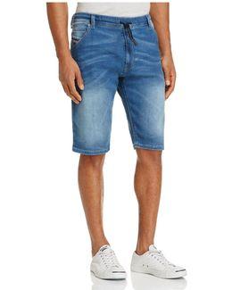 Krooshort Slim Fit Denim Shorts