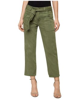 Karate Belted Ankle Pants