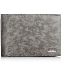 Monaco Leather Double Billfold Wallet