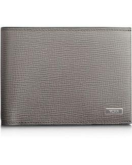 Monaco Leather Global Double Billfold Wallet