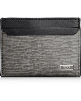 Monaco Leather Slim Card Case