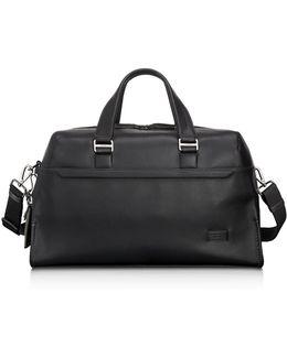 Harrison Leather Rockwell Day Duffel Bag