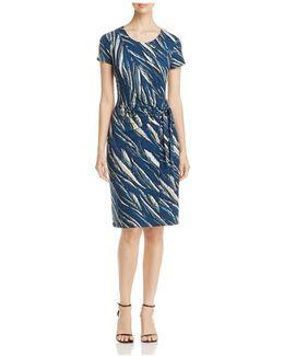 Tiger Lily Print Dress