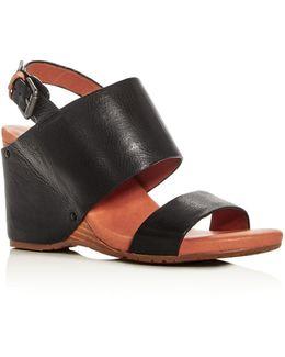 Inka Slingback Wedge Sandals