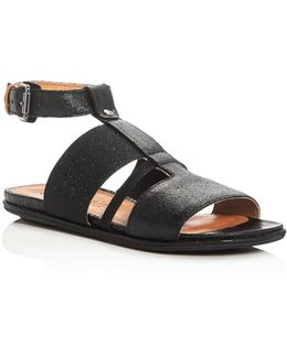 Ophelia T-strap Sandals
