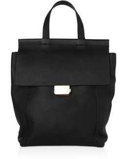 Pimlico Press Lock Leather Backpack