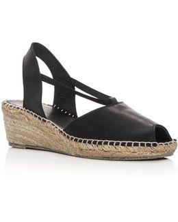 Dainty Slingback Espadrille Sandals