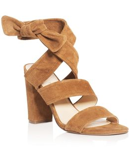 Kiffie Ankle Tie High Heel Sandals