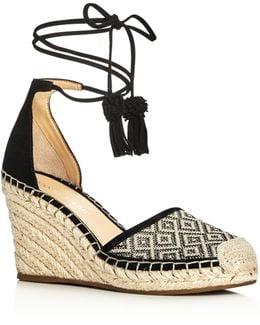 Wadia Espadrille Wedge Sandals