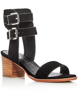 Suede Porter City Sandal