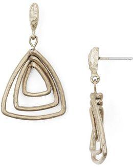 Paris Triple Drop Earrings