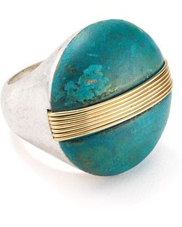 Two-tone Cocktail Ring