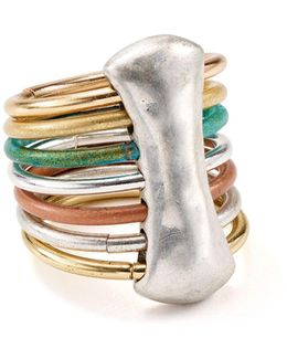 Multi-band Cocktail Ring