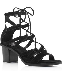 Brielle Gladiator Lace Up Sandals