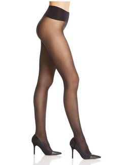 Mini Diamond Sheer Control Top Tights