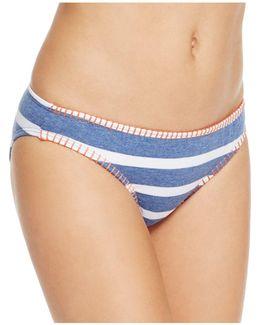 Chambray Retro Bikini Bottom
