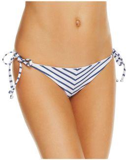 Chambray Side Tie Bikini Bottom
