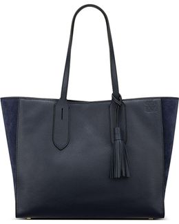Julia East/west Leather Tote
