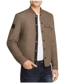 Bomber Shirt Jacket