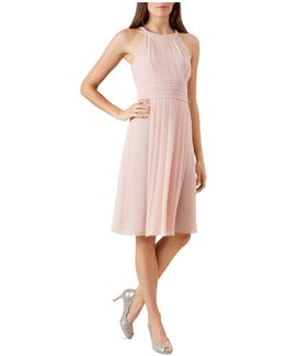 Alexis Pleated Dress