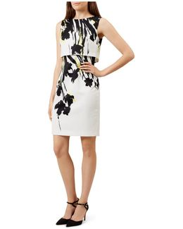 Bree Tiered Printed Dress