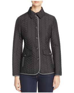 Chevron Quilted Jacket