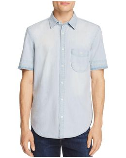 Chambray Regular Fit Button-down Shirt