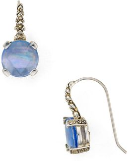 Blue Quartz Drop Earrings