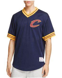 Cleveland Cavaliers Mesh Nba Shooting Shirt