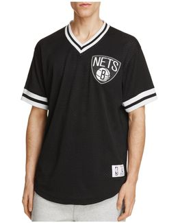 Brooklyn Nets Mesh Nba Shooting Shirt