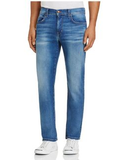 The Brixton Straight Fit Jeans In Grayson