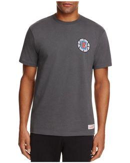 Los Angeles Clippers Wordmark Nba Logo Tee