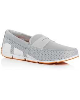 Breeze Mesh Penny Loafers
