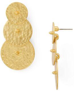 Ruler Earrings