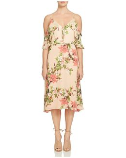 Alice Off-the-shoulder Lily Blooms Dress