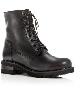 Women's Caterina Waterproof Leather Cold Weather Booties